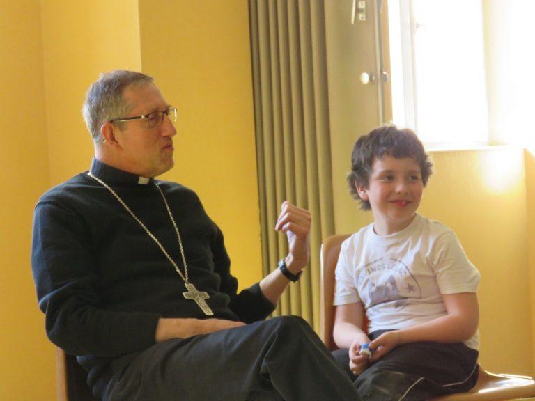 Temps d'échanges avec les jeunes adultes et les enfants de l'éveil à la foi (16/03)
