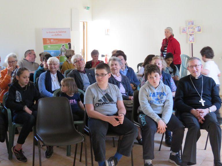 Rencontre solidarité C.C.F.D. (Comité Catholique contre la Faim et pour le Développement) pour l'ensemble de l'Unité pastorale (16/03)