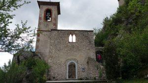 Église du Vieux village de Sahune