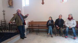 Monsieur le Maire en guide à l'église de Montréal