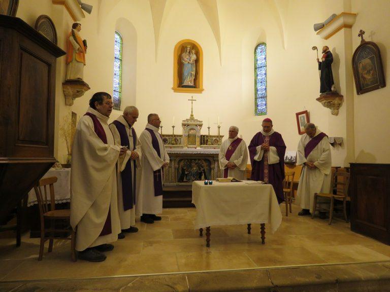 messe à l'église de St May