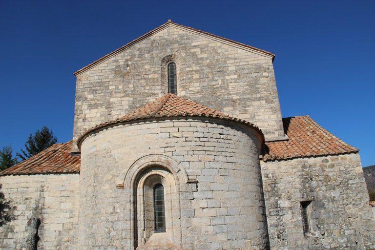 visite de l'église ND de Calma à Lachau
