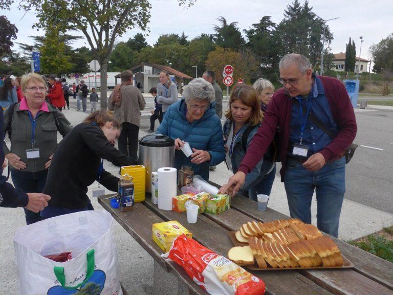 Déjeuner à Portes-les -Valence
