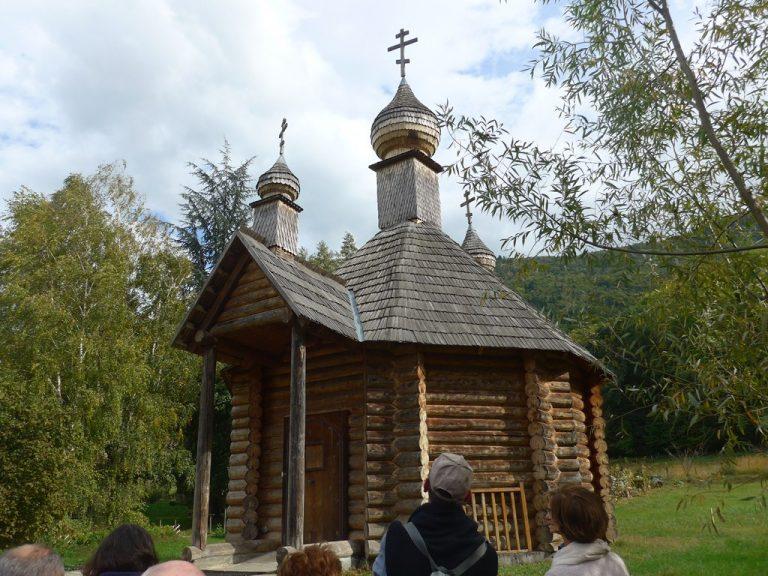 Chapelle baptismale d'Ukraine