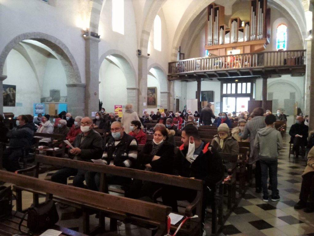 église de Nyons 24 janvier 2021