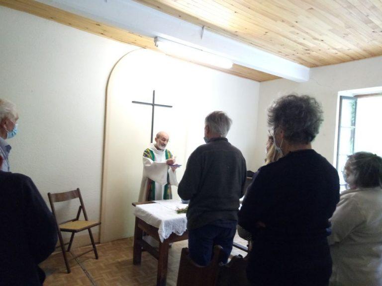 Messe dans le temple d'Establet